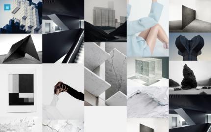 Melvin A Content Focused Moodboard Tumblr Theme