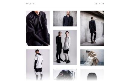 Tumblr theme Legacy - A Robust Minimalistic Theme