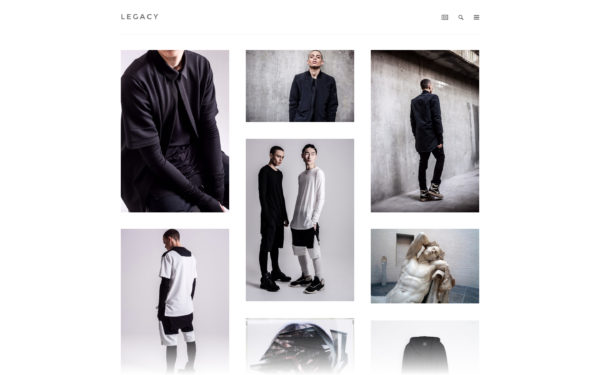Legacy - an elegant and minimal Tumblr theme