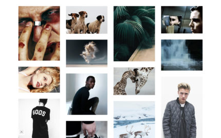 Tumblr theme Ascent - A Strikingly Clean Grid Layout
