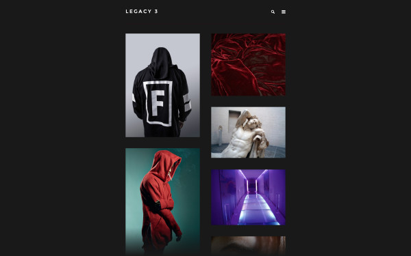 Legacy - a Tumblr 2 Column theme template